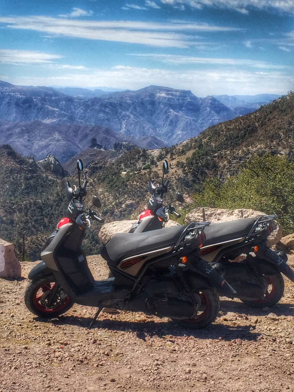 Copper Canyon Tour with Yamaha Scooter Rentals | The 3